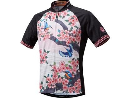 10 桜と翡翠
