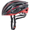 UVEX RACE 5 <ブラックマット/レッド> ロードヘルメット