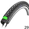SCHWALBE マラソン タイヤ 29x1.75 (リフレクター付)