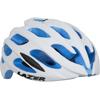 LAZER 17'BLADE (ブレイド) <マットホワイト/ブルーEPS> ロードヘルメット 特価品(現品限り)