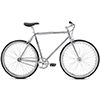SE BIKES 17'DRAFT LITE CHROME(ドラフトライト クローム)シングルスピードバイク