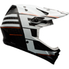 BELL FULL9(フルナイン) <マットホワイト/ブラックブロック> MTBフルフェイスヘルメット DH/BMX用