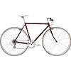 FUJI 17'BALLAD(1x8s)クロスバイク700C