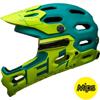 BELL SUPER 3R MIPS(スーパー3Rミップス) <マットエメラルド/レティーナシアー> MTBフルフェイスヘルメット