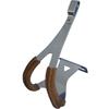 MKS�@TOE CLIP STEEL DEEP w/leather�i�g�[�N���b�v �X�`�[�� �f�B�[�v �v�t���j