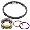 """DIXNA バンテージ 1-1/8""""アルミヘッドスペーサー2.5mm 1個"""