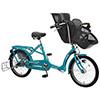 丸石 ふらっか〜ずシュシュ FRCH203W 子供乗せ自転車