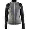 CRAFT 1903675 BELLE ジャケット <9975 ブラック/Dkグレイ/メランジ> 女性用