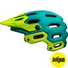 BELL SUPER 3 MIPS(スーパー3ミップス) <マットエメラルド/レティーナシアー> MTBフルフェイスヘルメット
