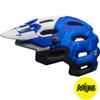 BELL SUPER 3 MIPS(スーパー3ミップス) <マットフォースブルー/ホワイト> MTBフルフェイスヘルメット