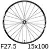 �V�}�m�@XT WH-M8000-TL-F15-275 MTB�z�C�[��27.5�h�t�����g�p�i15mmE�X���[�j