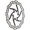 ASHIMA�@�G�A�[���[�^�[ �u���b�N DISC���[�^�[ 180mm �i�X�`�[���{���g�t�j
