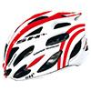 SH+ SHABLI S-LINE ホワイト/レッド ヘルメット