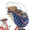 OGK RCH-003 ハレーロ・ベビー まえ幼児座席用ソフト風防レインカバー(柄モデル)