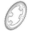 �V�}�m�@ULTEGRA FC-6800 ��|�����t�`�F�[�������O�A�E�^�[ 52T�i52-36T�p�j