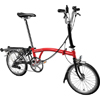 "BROMPTON 16'M6R <レッド/ブラック>折畳自転車 16"" 在庫限定特価車"