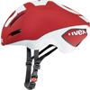 UVEX EDAero <レッドマット/ホワイト> ロードエアロヘルメット