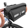 CHROME�@KNURLED HANDLEBAR BAG BG-174