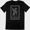 CHROME�@LARGE LOCKUP TEE AP-177
