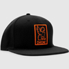 CHROME SNAPBACK CAP AP-138