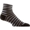 WRIGHTSOCK COOLMESH II Striped Quarter ソックス
