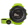 SUUNTO AMBIT3 VERTICAL HR LIME GPSウォッチ(心拍センサー付)