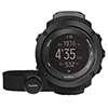 SUUNTO AMBIT3 VERTICAL HR BLACK GPSウォッチ(心拍センサー付)