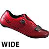 シマノ RC7(SH-RC700)レッド SPD-SL ロードシューズ ワイド 特価品(現品限り)