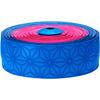 SUPACAZ スーパースティッキー クッシュ マルチカラー <ネオンブルー&ネオンピンク> バーテープ