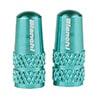 ビアンキ 仏式アルミバルブキャップ ローレットタイプ 2個入 PVCUEC