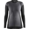 CRAFT 1904500 WS 長袖クルーネック 2.0 Wmns 女性用アンダーシャツ <9999 ブラック>