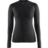 CRAFT 1904491 長袖クルーネック 2.0 Wmns 女性用アンダーシャツ<9999 ブラック>