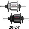 シマノ NEXUS DH-C2100-NC ハブダイナモ ナットタイプ6V-0.9W J2-A端子(OLD93/20-24インチ用)
