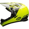 BELL SANCTION(サンクション) <ブラック/チタニウム/レティーナシアー> MTBフルフェイスヘルメット BMX用