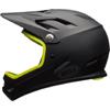 BELL SANCTION(サンクション) <マットブラック/レティーナシアー> MTBフルフェイスヘルメット BMX用