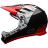 BELL SANCTION(サンクション) <ホワイト/ブラック/レッド> MTBフルフェイスヘルメット BMX用
