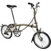 "BROMPTON 17'M6L <RAW/RAW> 折畳自転車 16"""