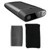 UOMI スマートエアポンプ M1 電動携帯ポンプ(USB充電式)シリコンカバー&クッションケース付