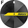 MAVIC コメット トラックチューブラーホイール フロント用