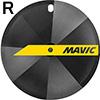 MAVIC コメット トラックチューブラーホイール リア用