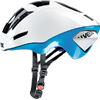 UVEX EDAero <ホワイト/ブルー> ロードエアロヘルメット