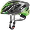UVEX BOSS RACE <グレイ/ネオングリーン> ロードヘルメット