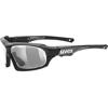 UVEX ヴァリオトロニック ff <ブラックマットカーボン> 調光サングラス 液晶レンズ
