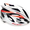 RUDY ラッシュ <ホワイト-レッドフルオ(シャイニー)> ヘルメット