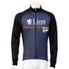 LION DE KAPELMUUR レーシングサーモジャケット 千鳥チップ ブラック lijk004