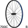 シマノ WH-RX570-TL-R12-700C DISCチューブレスホイール リア用