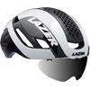 LAZER BULLET2.0 AF+LENS+LED(バレット2.0 アジアンフィット+レンズ+LED) <ホワイト> ロードヘルメット
