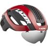 LAZER BULLET2.0 AF+LENS+LED(バレット2.0 アジアンフィット+レンズ+LED) <レッド> ロードヘルメット