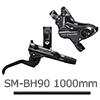 シマノ DEORE(ディオーレ)BL-M6100右レバー/BR-M6120 DISCキャリパー(D02Sメタルパッド付)Jキット 前用ホース1000mm付属