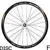 シマノ DURA-ACE WH-R9170-C40-TL-F12 DISC チューブレスホイール フロント用(ホイールバッグ付)
